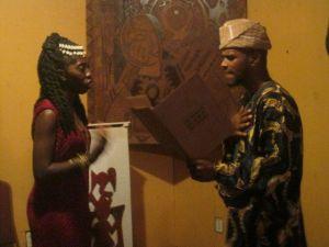 Oba Adefunmi II & Queen Quet