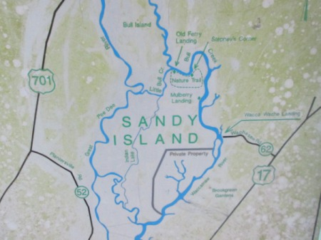 Sandy Island, SC in the Gullah/Geechee Nation