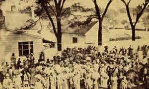 Gullah/Geechees at the Smith Plantation in Port Royal, SC, Gullah/Geechee Nation