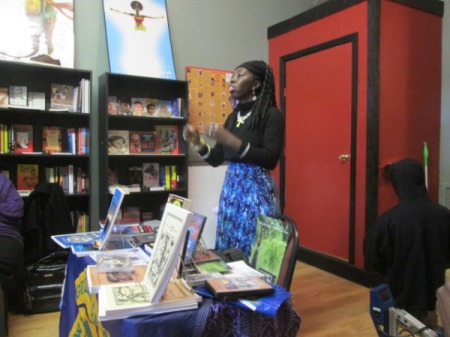 Queen Quet, Chieftess of the Gullah/Geechee Nation at True Uhuru Books
