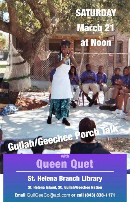 Gullah/Geechee Porch Talk on St. Helena Island