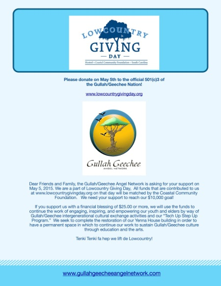 Gullah:Geechee Angel Network Fundraiser