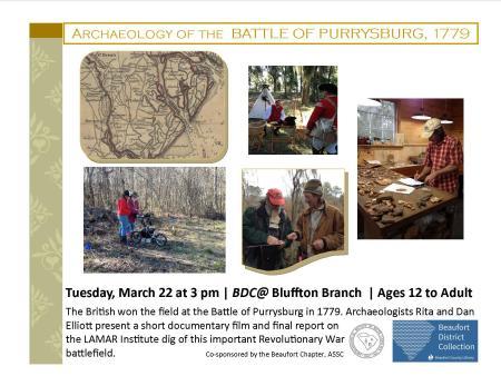 Battle of Purrysburg-flyer