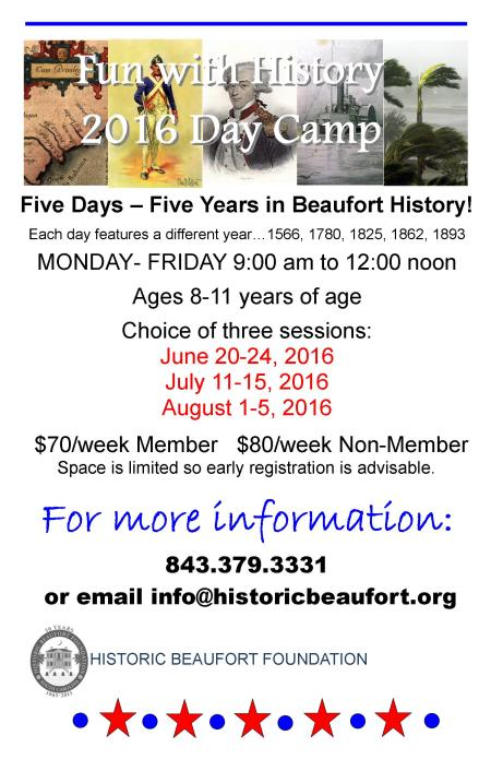 Fun with History 2016 day camp big poster (2)