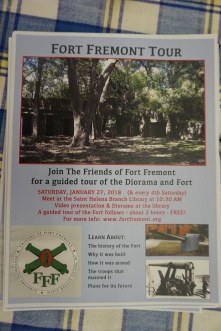 Fort Fremont Monthly Tour
