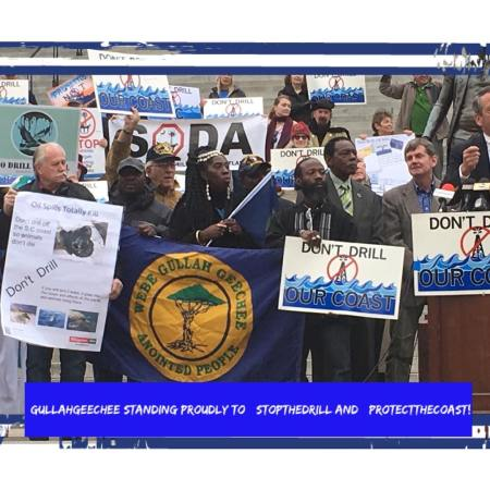 Gullah/Geechee Stand Up to #StoptheDrill and #ProtectOurCoast